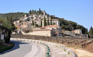 La Roque sur Cèze, les cascades du Sautadet et l'Abbaye de Valbonne dans FRANCE l'Uzège DSC_0002-300x184