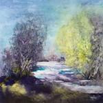 Aquarelles et collages dans SUISSE fonte-des-neiges-6-cartes-150x150