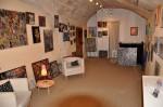Mes aquarelles et collages à la galerie 12'Art d'Uzès dans FRANCE l'Uzège dsc_0002-150x99